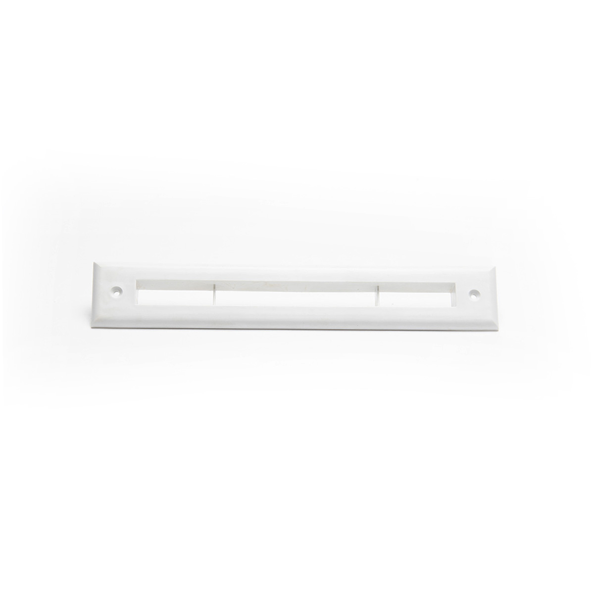 Slotted Outlet Face Plate, White, UPC-67/68