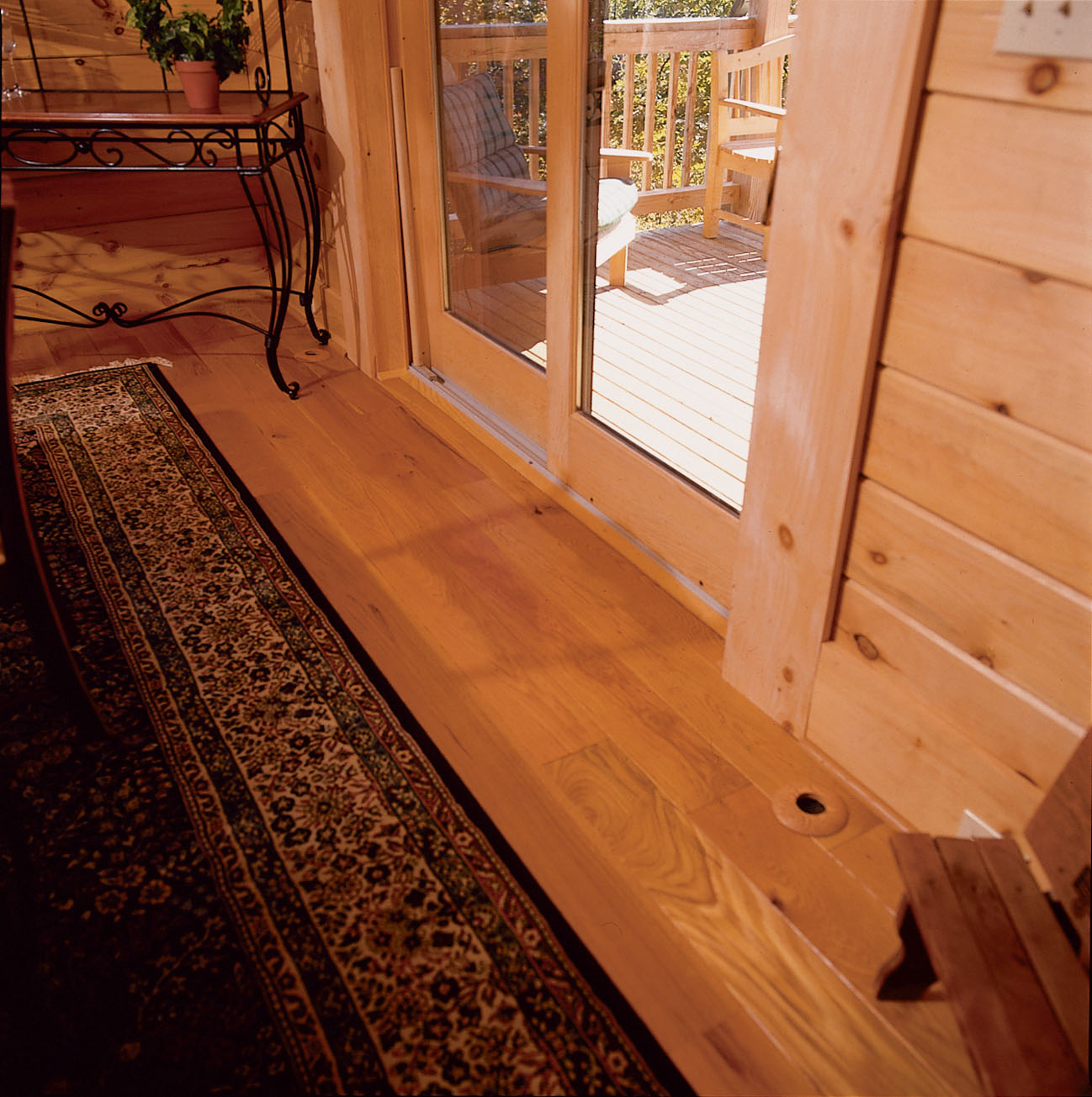 air conditioning floor vents. wood outlets match perfectly to decor of this log home air conditioning floor vents