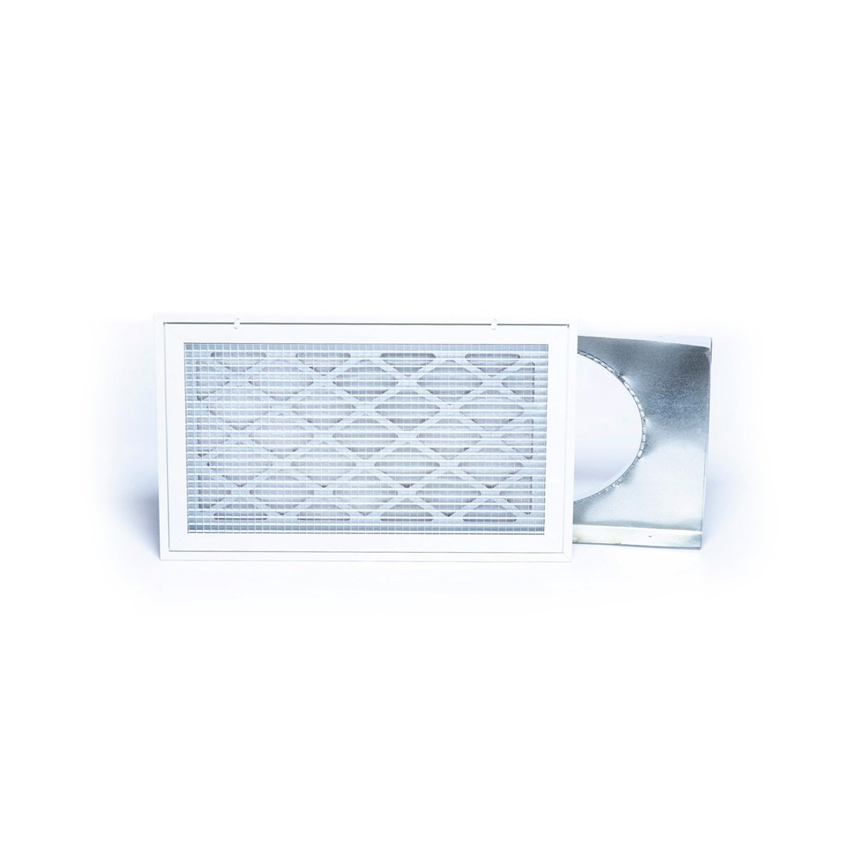 "Return Air Box with Filter Grille, 2430, 14"" x 25"""