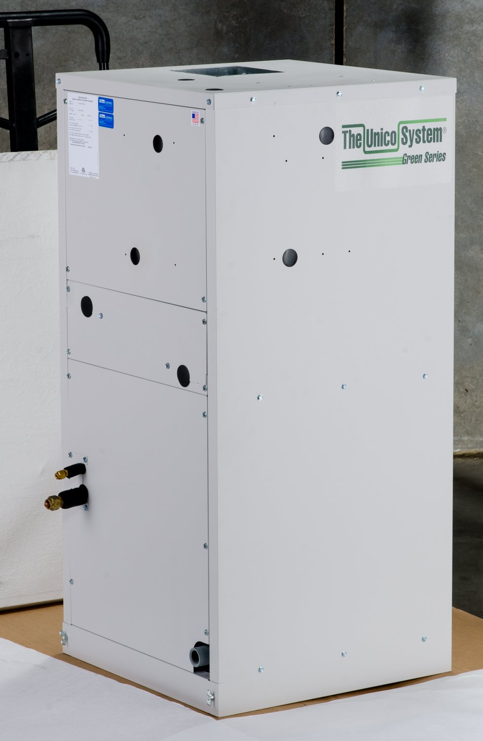 Vertical AHU, 3036, E Coil, E-Coated