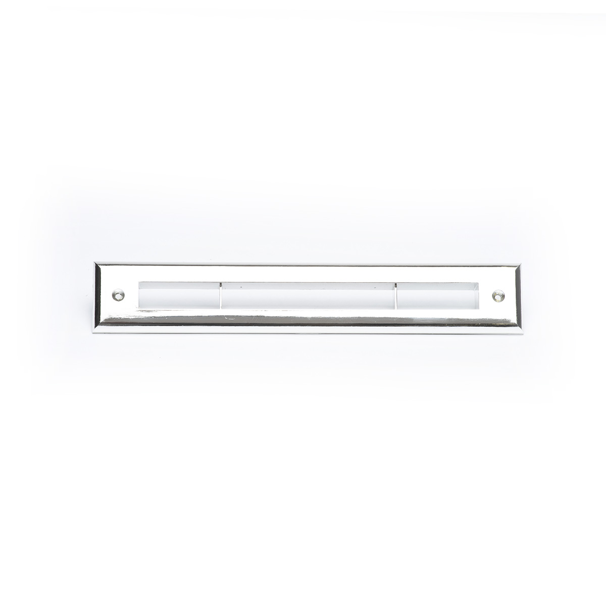Slotted Outlet Face Plate, Chrome, UPC-66