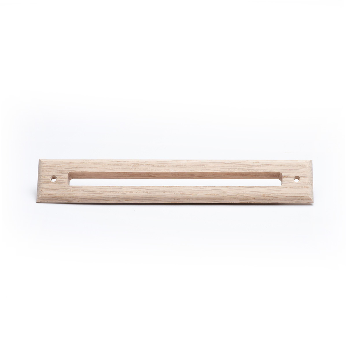 Slotted Outlet Face Plate, Wood, Red Oak, UPC-67/68
