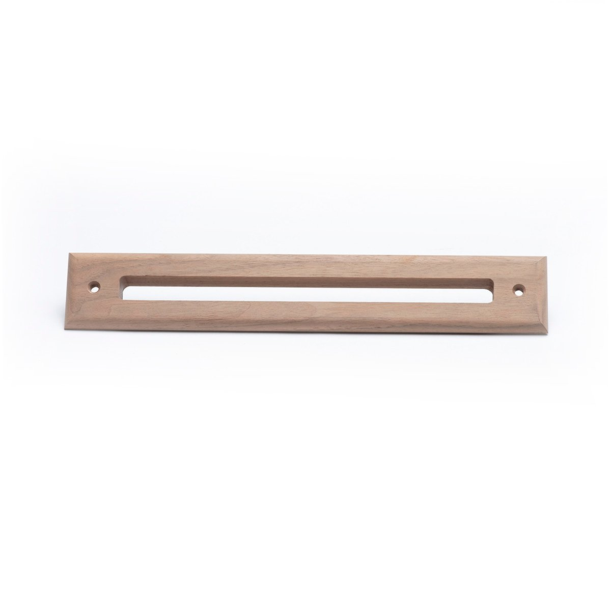 Slotted Outlet Face Plate, Wood, Walnut, UPC-67/68