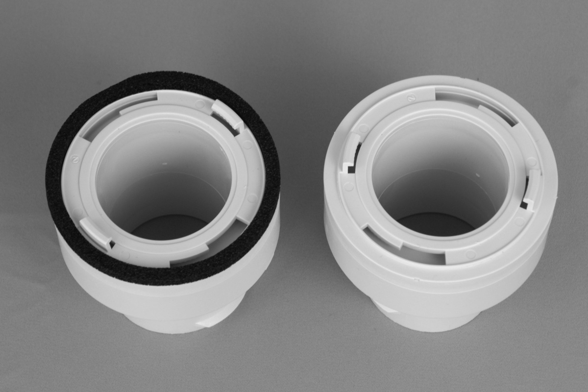"Coupling Kit, 2"", TFS, R3.3, White, 1/bx"