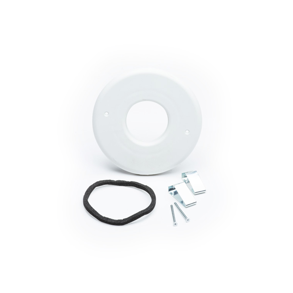 "Round Supply Outlet, 2"", White, TFS, 6/bx"