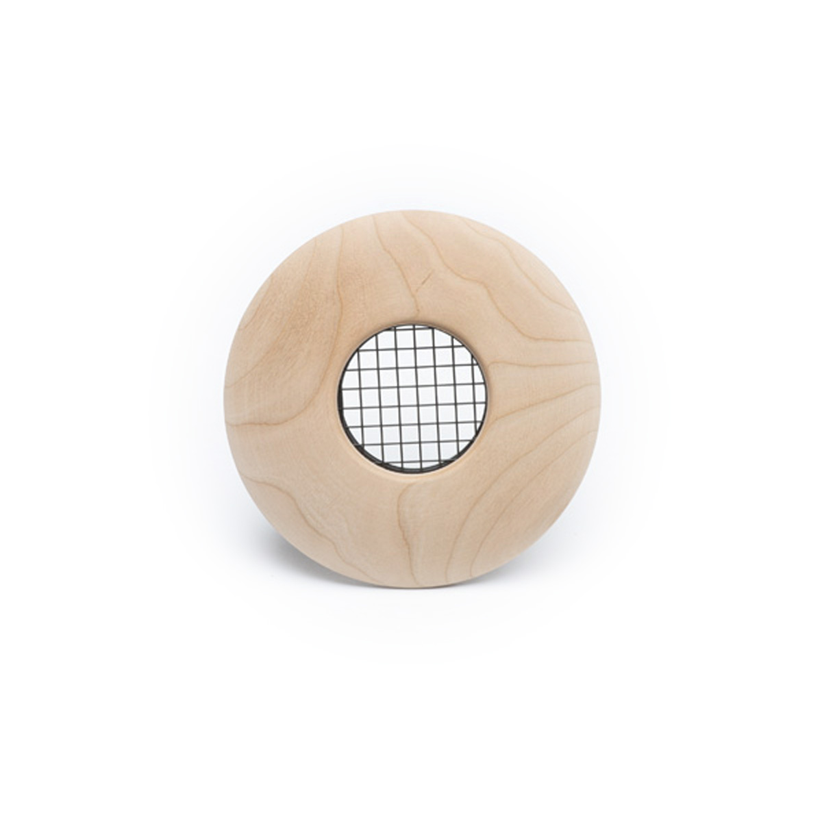 "Round Supply Outlet, 2"", Cherry wood, TFS, 1/bx"