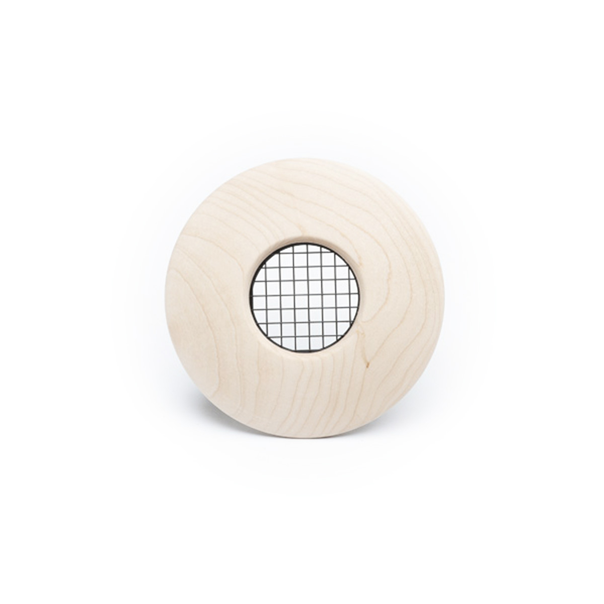 "Round Supply Outlet, 2"", Maple wood, TFS, 1/bx"