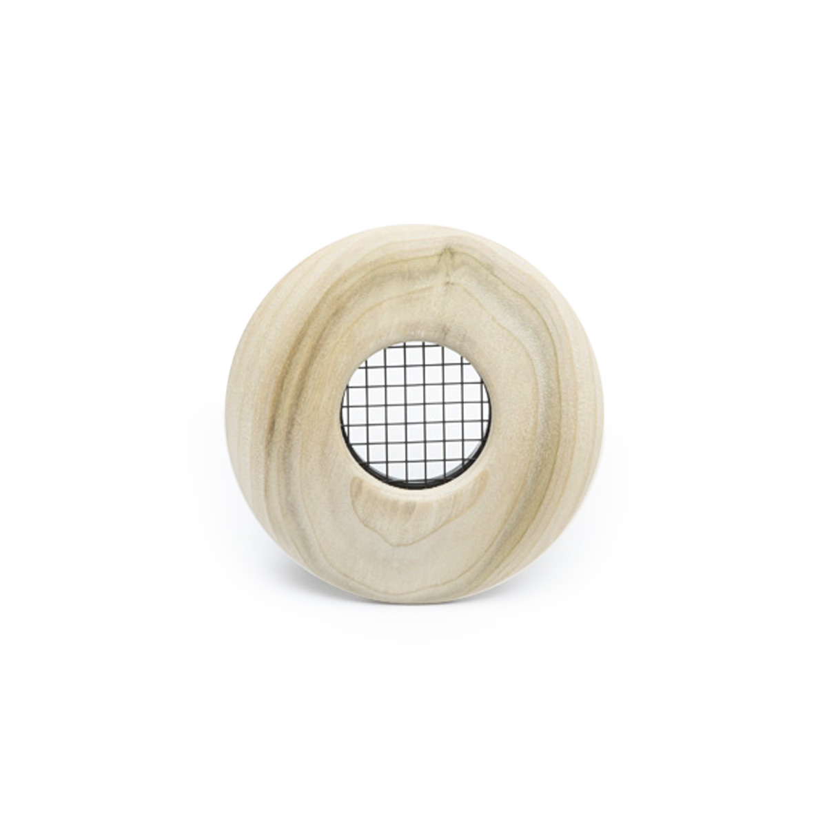 "Round Supply Outlet, 2"", Poplar wood, TFS, 6/bx"