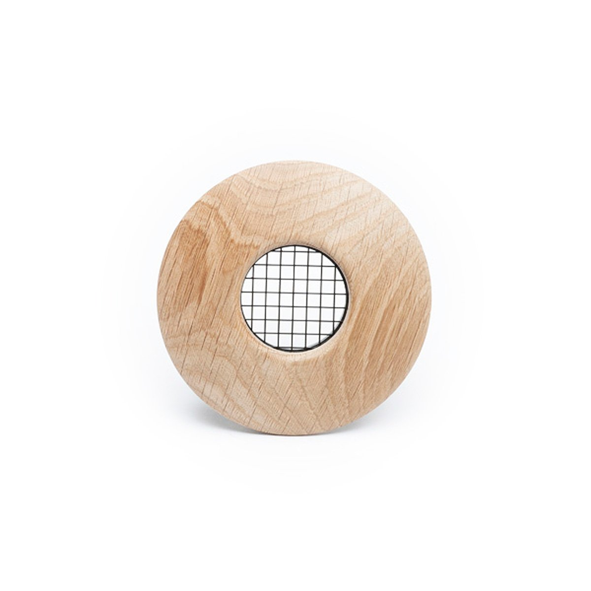 "Round Supply Outlet, 2"", White Oak wood, TFS, 6/bx"