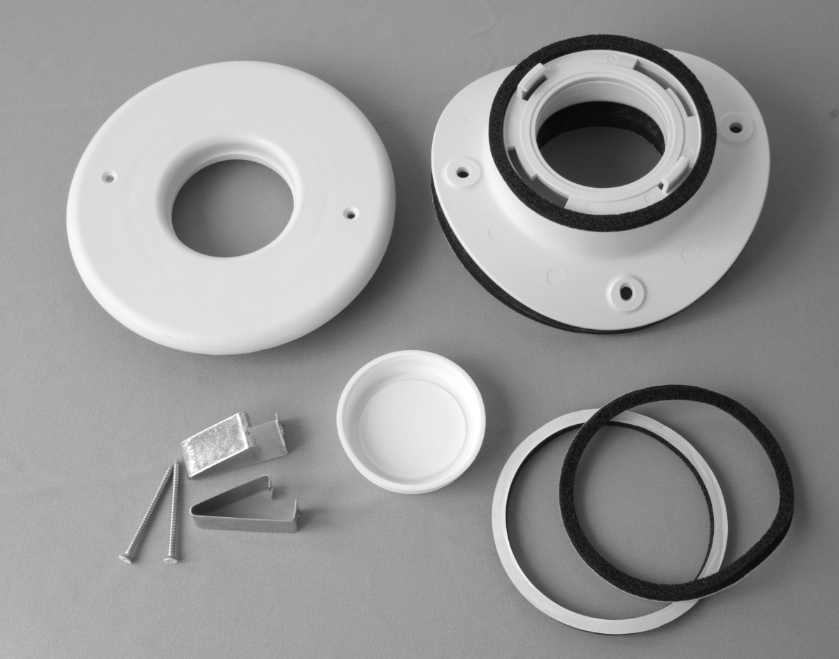 "Install Kit, 2"", Round Metal Plenum, TFS, (1pk)"